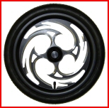 Annihilator Black Wheels