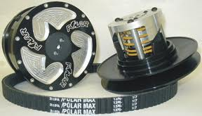 Polar Over Clutch with Belt